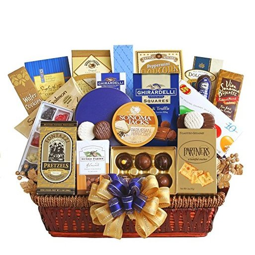 Executive Decision Gourmet Food Gift Basket  sc 1 st  THE HAPPY GIVER & Gourmet Food - THE HAPPY GIVER